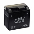 12 Volt APT5L-BS Dry Charged AGM Scooter, ATV, and Dirt Bike Battery (Premium)
