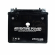 12 Volt UTX12-BS Dry Charged AGM Scooter, ATV, and Dirt Bike Battery (Premium)