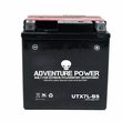 12 Volt UTX7L-BS Dry Charged AGM Scooter, ATV, and Dirt Bike Battery (Premium)