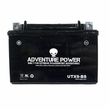12 Volt UTX9-BS Dry Charged AGM Scooter, ATV, and Dirt Bike Battery (Premium)