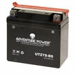12 Volt UTZ7S-BS Dry Charged AGM Scooter, ATV, and Dirt Bike Battery (Premium)