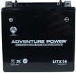 12 Volt YTX14-BS Sealed AGM Scooter & Motorcycle Battery (Premium)