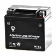 12 Volt YTX5L-BS Sealed AGM Scooter, ATV, and Dirt Bike Battery (Premium)
