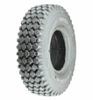 "12""x4"" Foam-Filled Mobility Tire with Knobby Tread"