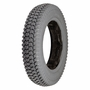 "14""x3"" (3.00-8) Foam-Filled Mobility Tire (Raised Star Keyway Profile; 2.25"" Bead Width) with Powertrax C248 Tread (Primo)"