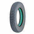 "14""x3"" (3.00-8) Foam-Filled Mobility Tire (Flush Profile; 1.625"" Bead Width) with Powertrax C248 Tread (Primo)"