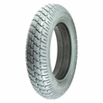 "14""x3"" (3.00-8) Foam-Filled Mobility Tire (Flush Profile; 2.25"" Bead Width) with Durotrap C9210 Tread (Primo)"