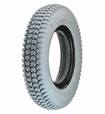 "14""x3"" (3.00-8) Foam-Filled Mobility Tire (Narrow Lip Profile; 2.25"" Bead Width) with Powertrax C248 Tread (Primo)"