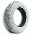 "14""x3"" (3.00-8) Foam-Filled Mobility Tire (Flush Profile; 2.375"" Bead Width) with Access V-Groove C917 Tread (Primo)"