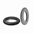 """14""""x3"""" (3.00-8) Mobility Tire and Tube Set with Durotrap Tread"""