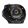 196cc 6.5 HP JF200 Recoil Pull Start with Shroud for the Baja Mini Bike MB165 (Baja Heat, Mini Baja, Baja Warrior) - Black