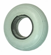 "2.80/2.50-4 (9""x3"") Foam-Filled Mobility Tire with Spirit Ribbed Tread (Primo)"