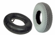 "2.80/2.50-4 (9""x3"") Mobility Tire and Inner Tube Set with Power Edge Sawtooth Tread"