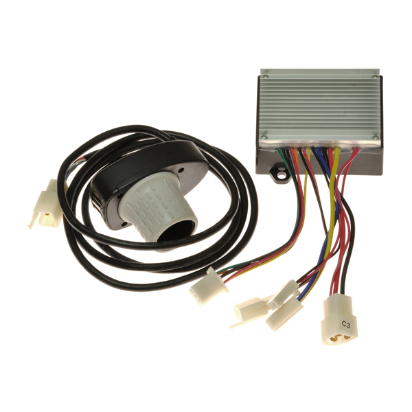 201c6 3a hb2430tyd fs razor 6 wire throttle controller bundle for the razor mini chopper