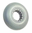 210x65 Solid Urethane Mobility Tire with Ribbed Tread
