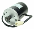 24 Volt 135 Watt Electric Motor with 3M Belt Sprocket and Mounting Bracket