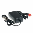 24 Volt 2.0 Amp XLR Battery Charger with Car Cigarette Lighter DC Input (Standard)