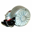 "24 Volt 250 Watt Gear Reduction Motor with 9 Tooth 1/8"" Bicycle Chain Sprocket (Currie Technologies)"
