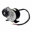24 Volt 350 Watt Gear Reduction Motor with 8 mm 05T chain sprocket for the Razor Dirt Quad (MY1016Z3)