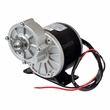"24 Volt 350 Watt Gear Reduction Motor with 9 Tooth 1/8"" Bicycle Chain Sprocket"