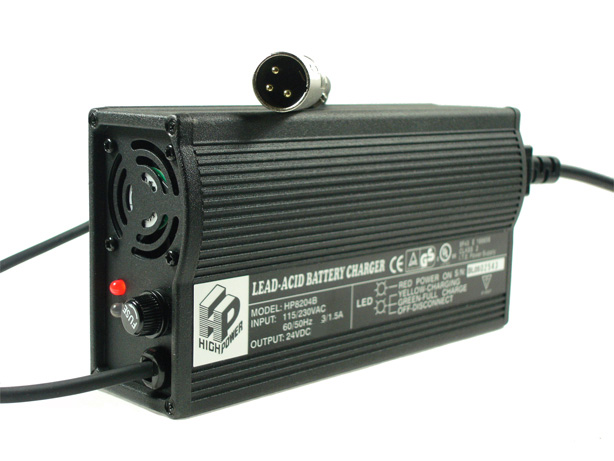 24 Volt 4 0 Amp Hp8204b Battery Charger For Merits