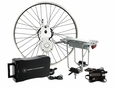 "24 Volt 450 Watt Currie Electro-Drive Electric Bike Conversion Kit #1 with SLA Batteries and a 26"" Rear Rim"