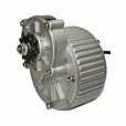24 Volt 450 Watt Gear Reduction Motor with 9 Tooth 420 Chain Sprocket (1018)