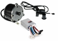 24 Volt 650 Watt Motor, 5-Pin Controller, & Throttle Kit