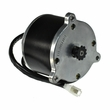 24 Volt 650 Watt Motor with 11 Tooth #25 Chain Sprocket (Currie Technologies)
