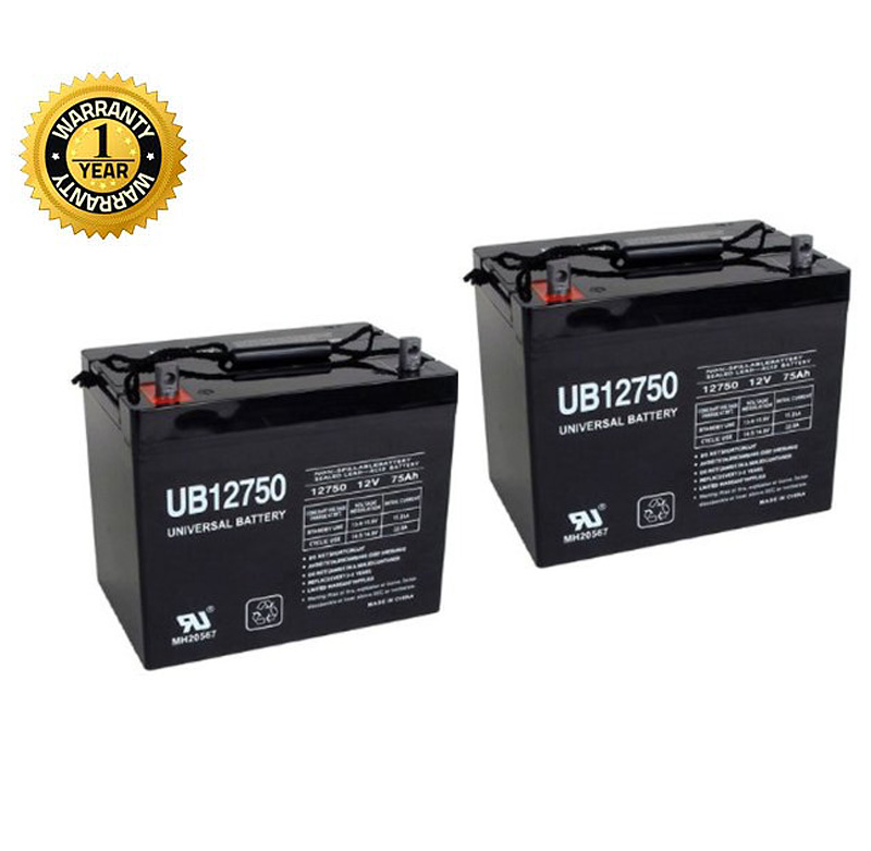 24 volt 24 75 ah battery pack for the pride pursuit xl sc714 compatible with pride