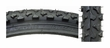 "26""x2"" Black MTB Alpha Bite Bicycle Tire (Sunlite)"