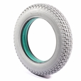 3.00-10 Foam-Filled Mobility Tire with Knobby Tread (Cheng Shin)