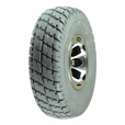 """3.00-4 (10""""x3"""", 260x85) Foam-Filled Drive Wheel Assembly for Invacare Pronto Power Chairs"""