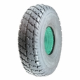 "3.00-4 (10""x3"", 260X85) Foam-Filled Mobility Tire with Durotrap Knobby Tread (Primo)"