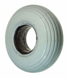 "3.00-4 (10""x3"", 260X85) Foam-Filled Mobility Tire with Spirit Ribbed Tread (Primo)"