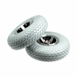 """Foam-Filled 3.00-4 (10""""x3"""", 260X85) Front Wheel Assemblies for the 4-Wheeled Invacare Leo (Set of 2)"""