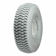 "3.00-4 (10""x3"", 260X85) Gray Foam-Filled Mobility Tire with Traction Tread (Kenda)"