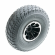 "3.00-4 (10""x3"", 260x85) Rear Wheel Assembly with Gray Pneumatic Tire for the Pride Victory 10 (SC710) and Cyclone (SC3400)"