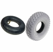 "3.00-4 (10""x3"") Mobility Tire and Inner Tube Set with Durotrap Tread"