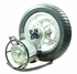 36 Volt 1000 Watt Direct Drive Electric Motor & Rear Wheel Assembly with Mounting Bracket (Currie Technologies)