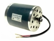 36 Volt 750 Watt Electric Motor with #25 Chain Sprocket (MY1020)