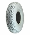 "4.00-5 (13""x4"", 330x100) Foam-Filled Mobility Tire with Diamond Knobby Tread (Cheng Shin)"