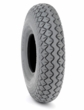 "4.00-5 (13""x4"", 330x100) Pneumatic Mobility Tire with Diamond Knobby Tread (Primo)"