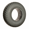 4.10/3.50-6 Foam-Filled Mobility Tire with Knobby Tread (Primo)