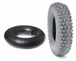 4.10x3.50-5 Mobility Tire and Tube Set with Nimble Knobby Tread