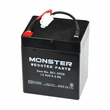 4 Ah 12 Volt AGM Battery with Connector for Minimoto/Banzai Submersible Cruiser