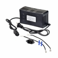 48 Volt 1.6 Amp 3-Pin Battery Charger with Conversion Kit for Panterra Scooters (Standard)