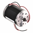 48 Volt 500 Watt Electric Motor with 11 Tooth for #25 Chain Chain Sprocket