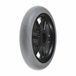 "5""x1"" Molded Caster Wheel with 6 Spokes"
