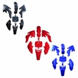 50cc Dirt Bike Fender & Body Panel Set (Multiple Colors)